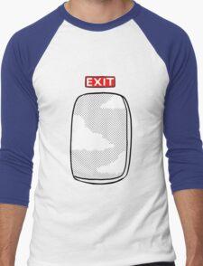 Emergency exit Men's Baseball ¾ T-Shirt