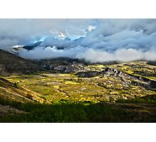 Volcanic valley Photographic Print
