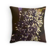Bromeliad center stalk Throw Pillow