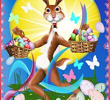 Jack Rabbit Express Easter by Lotacats