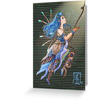 Element Pixie Series- Wind Greeting Card