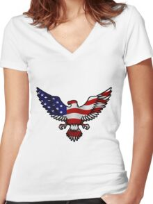 National Pride Women's Fitted V-Neck T-Shirt