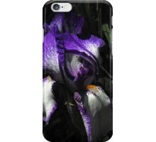 You're a picture - just an image caught in time...You've been left on your own...Like a Rainbow in the Dark iPhone Case/Skin