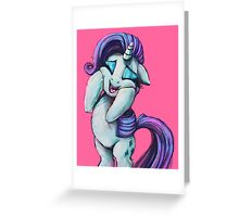 Rarity Squee Greeting Card
