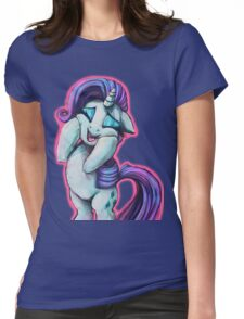 Rarity Squee Womens Fitted T-Shirt