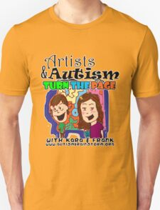 Artists and autism turn the Page T-Shirt