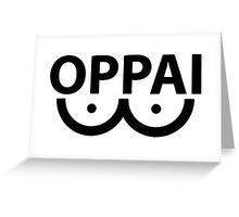 OPPAI t-shirt | One-Punch man Greeting Card