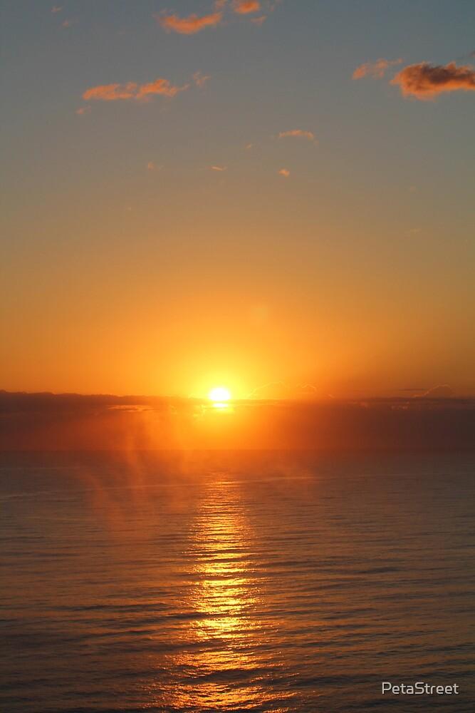 Orange Sunrise by PetaStreet