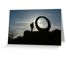 Grizedale Circle Greeting Card
