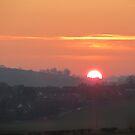 Suburban Sunset by Caroline Anderson