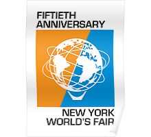 New York World's Fair - Fiftieth Anniversary Poster