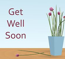 Get Well Soon / Chives by Jacqueline Turton