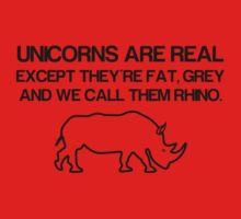Unicorns are real! Kids Clothes