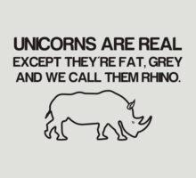 Unicorns are real! by MrYum