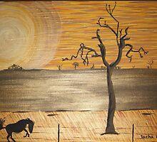Outback Heat by Sacha Whitehead