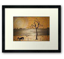 Outback Heat Framed Print