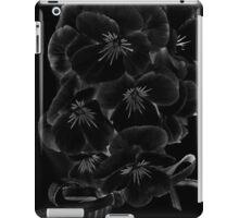 Midnite Pansies iPad Case/Skin