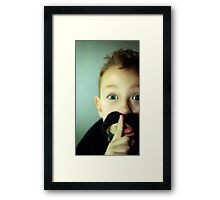 Freddie impersonator  Framed Print