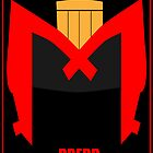 Dredd Minima Poster by Stevie B
