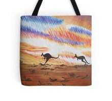 Kangaroos of Colour Tote Bag