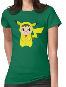 Villager Pika-Onesie Womens Fitted T-Shirt