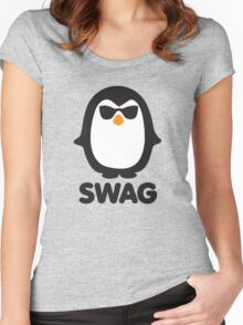 SWAG Pinguin Women's Fitted Scoop T-Shirt