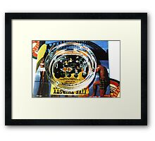 Glass Pub Ashtray Framed Print