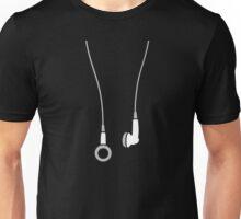 Earphones Unisex T-Shirt