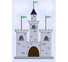 Cartoon Castle Photographic Print