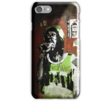 Singing in the street iPhone Case/Skin