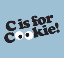 C is for Cookie Kids Tee