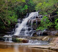 Upper Somersby Falls by Steve Randall