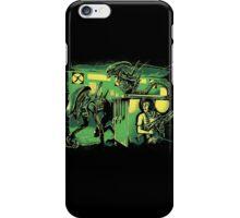 Jurassic Xenomorphs Parody Mashup iPhone Case/Skin