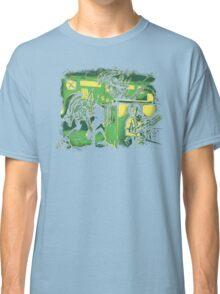 Jurassic Xenomorphs Parody Mashup Classic T-Shirt