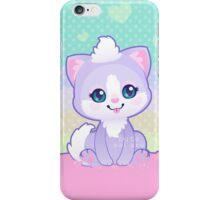 Purple Kitty iPhone Case/Skin