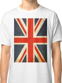 Grunge Effect Union Jack Classic T-Shirt