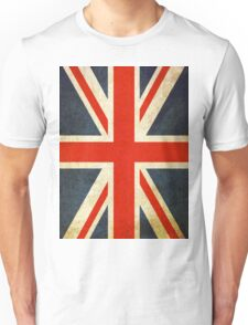 Grunge Effect Union Jack Unisex T-Shirt