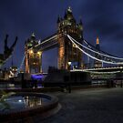 Tower Bridge and the Shard by AntonyB