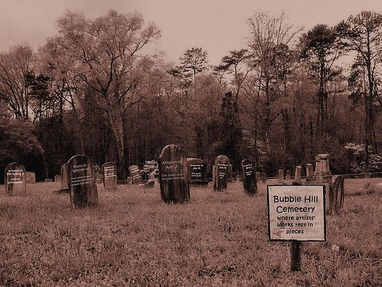 Bubble Hill Cemetery by © Bob Hall