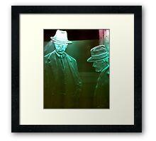 Hologram Framed Print