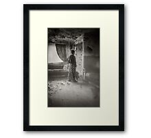 A WAY OUT Framed Print