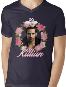 Killian Jones Mens V-Neck T-Shirt