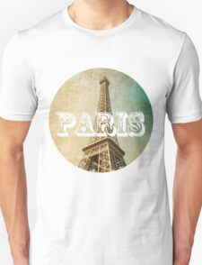 old fashioned paris The Eiffel Tower  T-Shirt