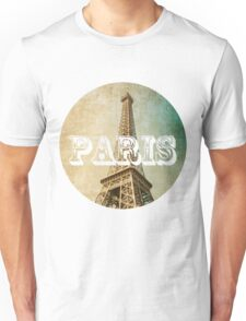 old fashioned paris The Eiffel Tower  Unisex T-Shirt