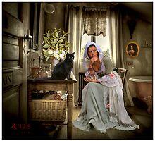 LA DAMA E IL GATTO by alis52