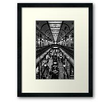 Adelaide Arcade. Framed Print