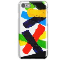 COLORFUL PLASTERS 2 iPhone Case/Skin