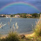 Rainbow Lake by manateevoyager