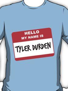 My Name Is Tyler Durden T-Shirt