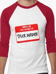 My Name Is Tyler Durden Men's Baseball ¾ T-Shirt